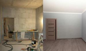 Качественный ремонт квартир под ключ или частично