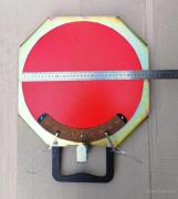 Platform PPSL-380 rotary, sliding, for cars, with a scale