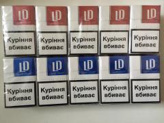 Продам оптом сигарети LD (червоний, синій)